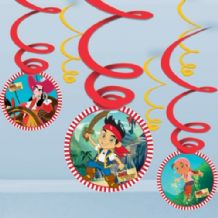 'Jake & the Neverlands Pirates' Hanging Decoration 1PK